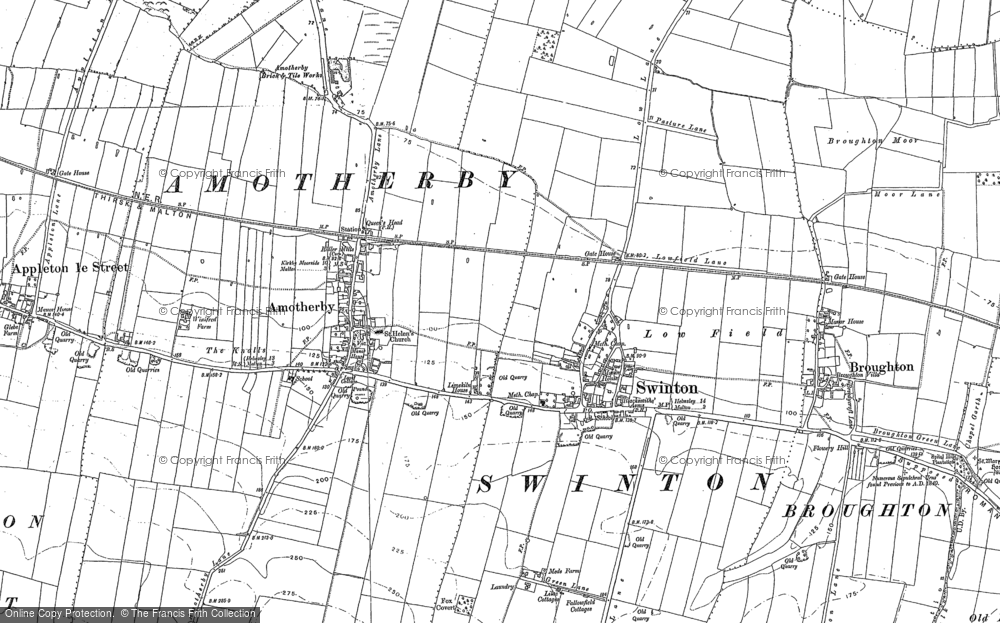 Old Map of Swinton, 1889 - 1890 in 1889