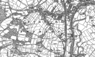 Old Map of Swinton, 1890
