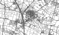 Old Map of Syston, 1883 - 1884