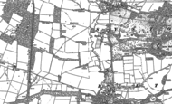 Old Map of Syston, 1887