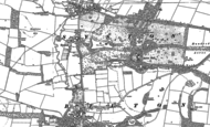 Old Map of Syston Park, 1887