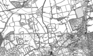 Old Map of Tadworth, 1895