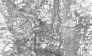 Old Map of Talywain, 1899 - 1900