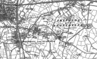 Old Map of Tamworth, 1900 - 1901