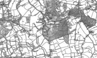 Old Map of Tandridge, 1895 - 1910