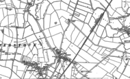 Old Map of Tansor, 1885 - 1899