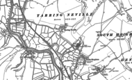 Old Map of Tarring Neville, 1898 - 1908