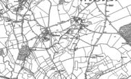 Old Map of Taston, 1898