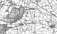 Old Map of Tedsmore, 1875 - 1880