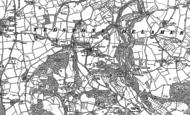 Old Map of Tedstone Delamere, 1902