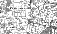 Old Map of Tedstone Wafer, 1902