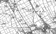 Old Map of Teesville, 1893 - 1913