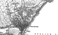 Old Map of Teignmouth, 1904