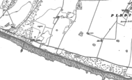 Old Map of Telscombe Cliffs, 1898 - 1909