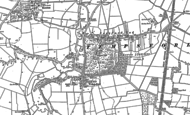 Old Map of Tempsford, 1882 - 1900