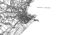 Old Map of Tenby, 1906