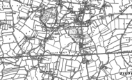Old Map of Terrington St Clement, 1904