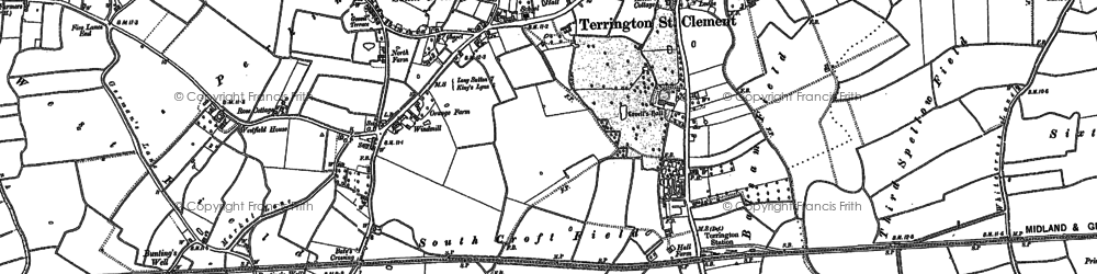 Old map of Alma Lodge in 1904