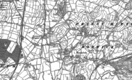 Old Map of Tewitfield, 1910 - 1911