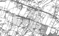 Old Map of Teynham, 1896