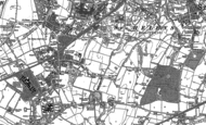 Old Map of Thatto Heath, 1891 - 1892
