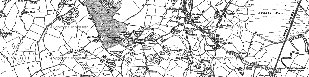 Old map of The Green in 1922