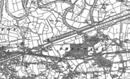 Old Map of Thelwall, 1905 - 1908
