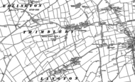 Old Map of Thimbleby, 1887