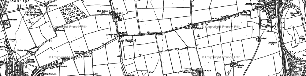 Old map of Skibbereen in 1896