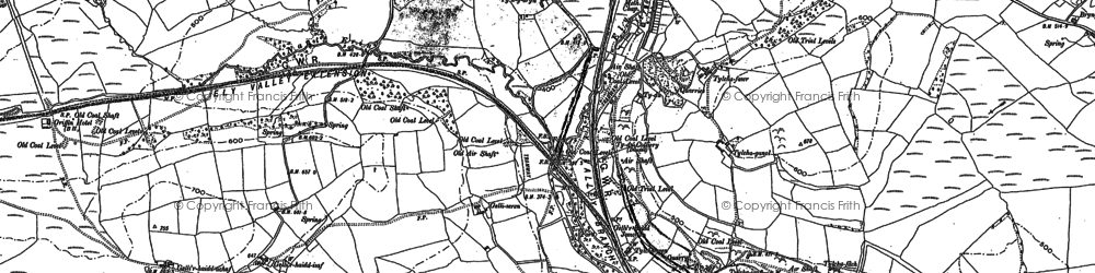 Old map of Thomastown in 1898