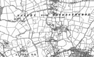 Old Map of Thoresthorpe, 1887