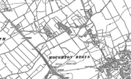 Map of Thorn, 1881