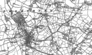 Old Map of Thornbury, 1880