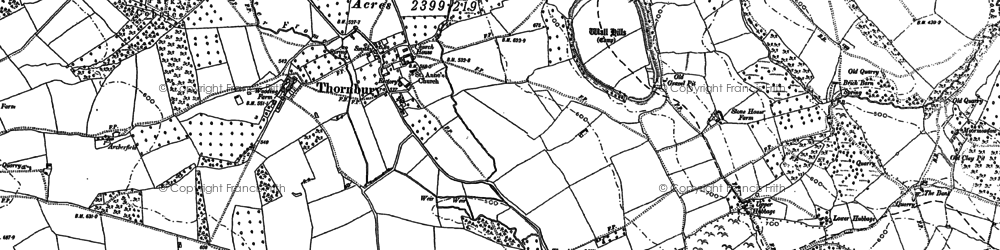 Old map of Yeld Ho in 1885
