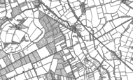 Old Map of Thorney, 1885 - 1886