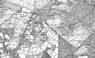 Old Map of Thorney Hill, 1896