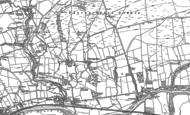 Old Map of Thorngrafton, 1895