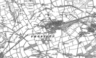 Old Map of Thornley, 1896