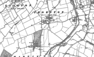 Old Map of Thornton, 1887