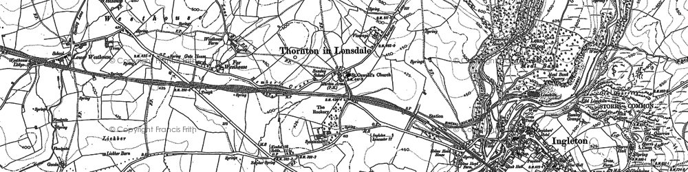 Old map of Wilson Wood in 1907
