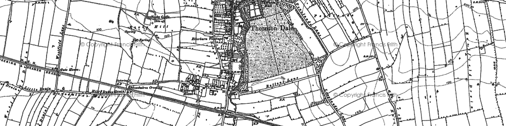 Old map of Willow Grange in 1890
