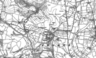 Old Map of Thorpe, 1879 - 1898