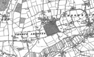 Old Map of Thorpe Abbotts, 1903