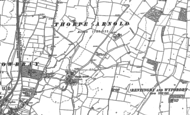 Old Map of Thorpe Arnold, 1884 - 1902