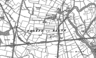 Old Map of Thorpe in Balne, 1891