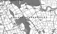 Old Map of Thorpe Underwood, 1892