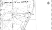 Old Map of Thorpeness, 1882 - 1903