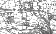 Old Map of Throckley, 1895