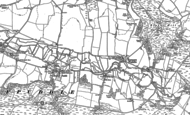 Old Map of Throop, 1885 - 1887