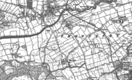 Old Map of Throxenby, 1910
